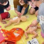 乳幼児応急講習